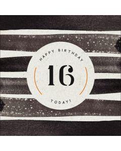 Happy Birthday, 16 Today!