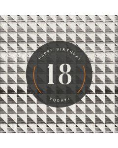 Happy Birthday, 18 Today!
