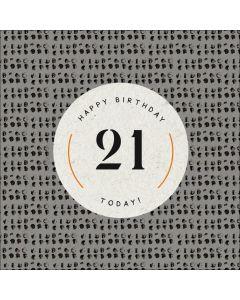Happy Birthday, 21 Today!