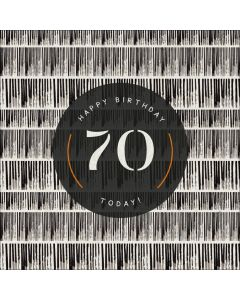 Happy Birthday, 70 Today!