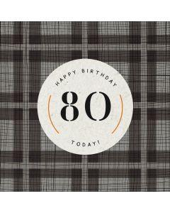 Happy Birthday, 80 Today!