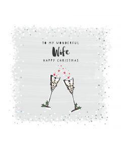 To my Wonderful Wife Happy Christmas