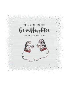 To a special Granddaughter with love at Christmas