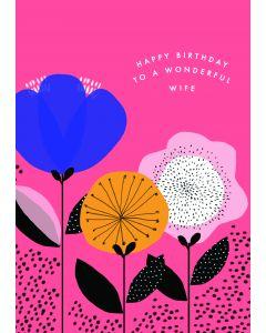Happy Birthday to a wonderful Wife