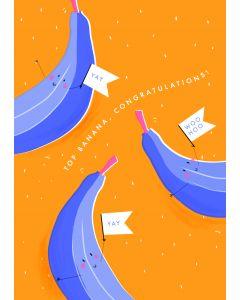 Top banana, Congratulations!
