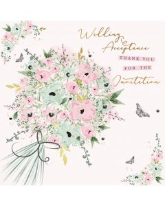 Wedding Acceptance - Thank you for the Invitation