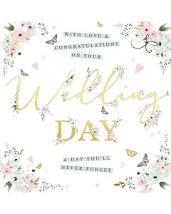 With Love and Congratulations on your Wedding Day