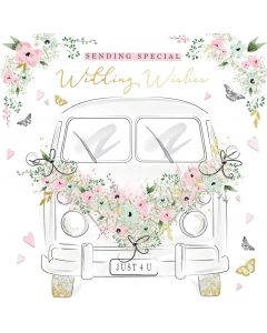 Sending Special Wedding Wishes Card