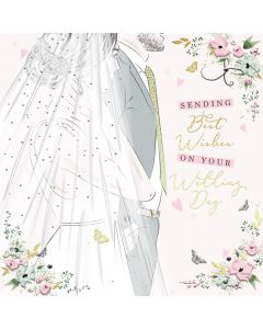 Sending best Wishes on your Wedding Day Card