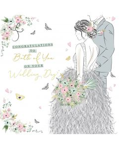 Congratulations to Both of You on your Wedding Day Card